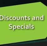 Discounts & Specials