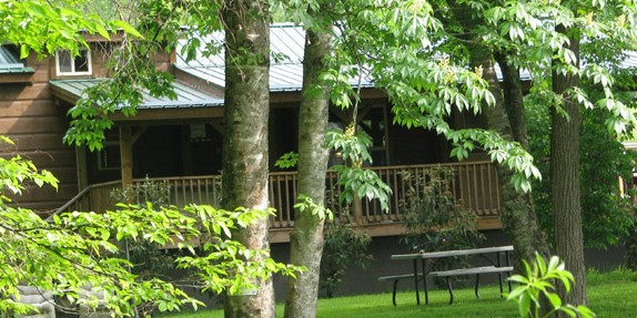 Weekend Retreat Log Cabins in Western NC | NC Mountain Vacation Log Cabins