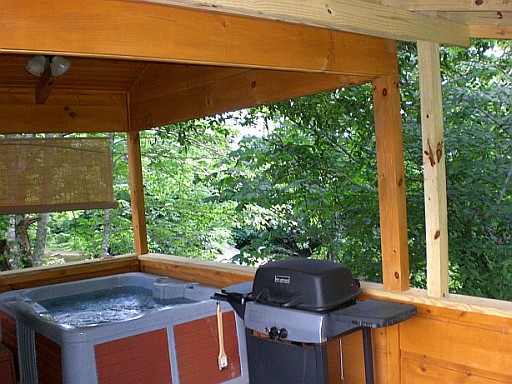 Western nc rental log cabins gallery linville river for Linville falls cabin rentals