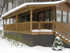western-nc-log-cabins-riverbend9-winter