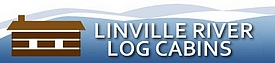 Linville River Log Cabins Logo
