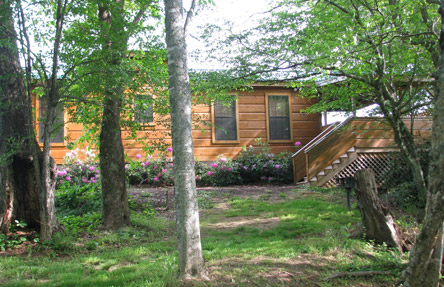 "Permalink to: ""Off the Map"" NC Vacation Log Cabins"