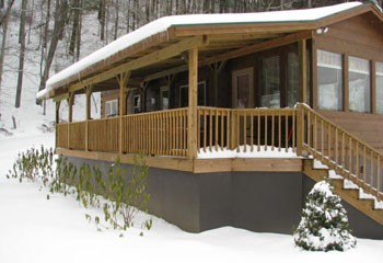 """Permalink to: """"Riverbend"""" NC Mountain Cabin Rentals"""