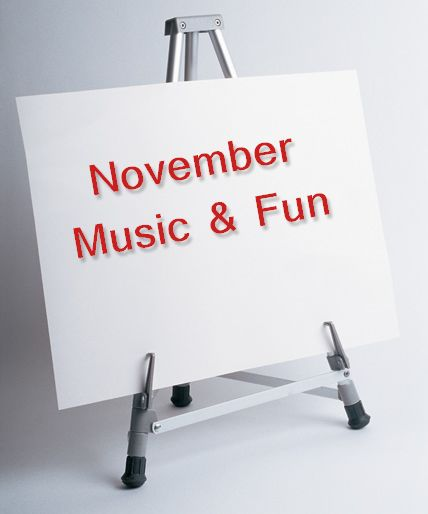 November 2014 Music & Fun