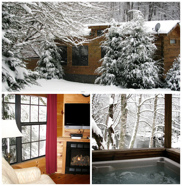 Winter - Off the Map Ski Cabin